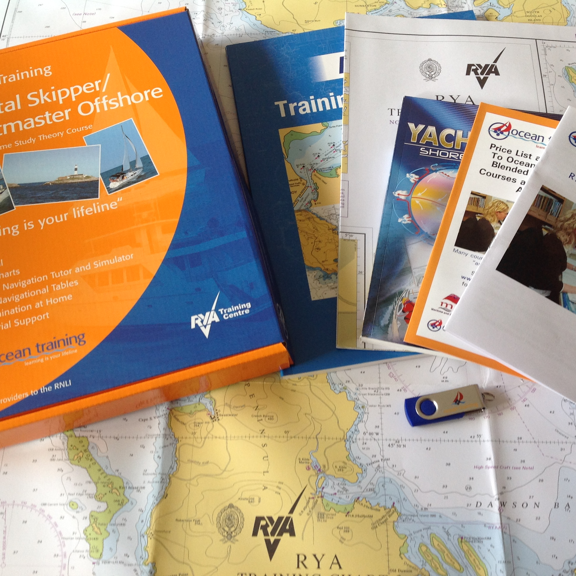 COMPLETE RYA AND MCA APPROVED COURSES