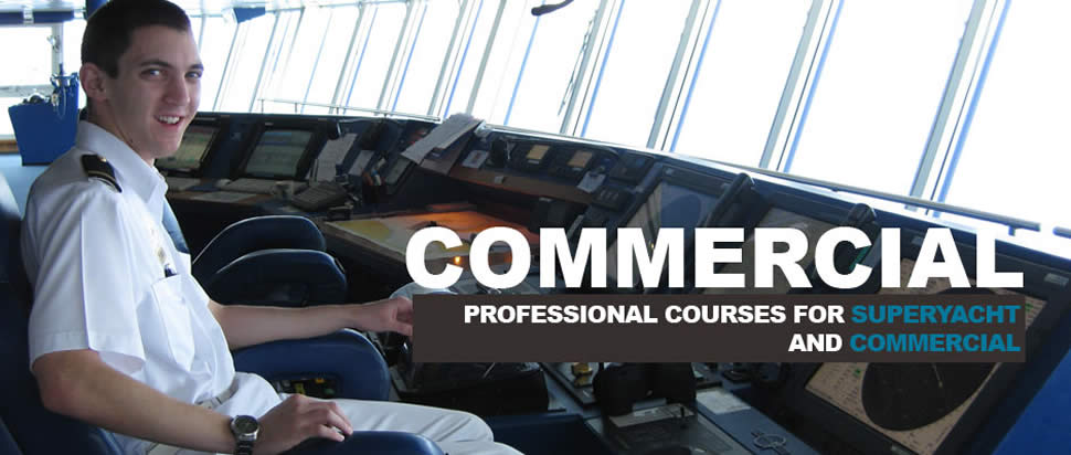 Commercial & Superyacht Courses